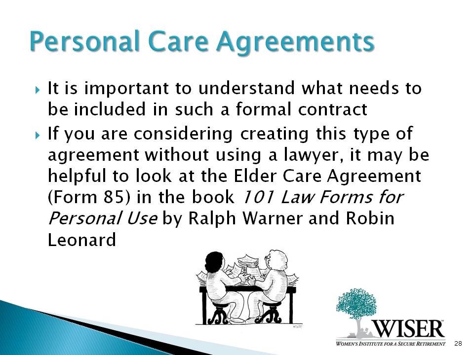 Elder Care Agreement Form Heartimpulsarco - Law forms for personal use