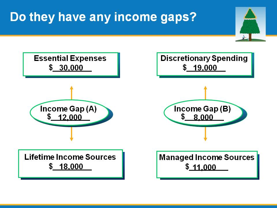 Do they have any income gaps?