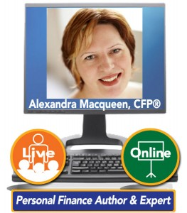 Alexandra Macqueen, CFP® – Personal Finance Author & Expert