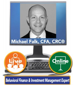 Michael Falk, CFA, CRC® – Behavioral Finance & Investment Management Expert