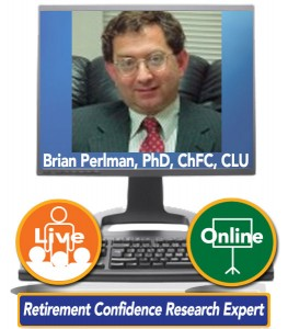 Brian Perlman, PhD, ChFC, CLU, Senior Vice President and CFO, Mathew Greenwald & Associates - Retirement Confidence Research Expert