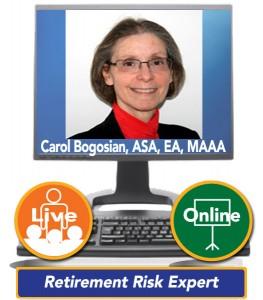 Carol Bogosian, ASA, EA, MAAA - Retirement Risk Expert