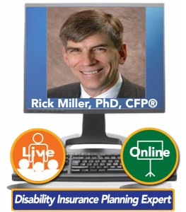 Rick Miller, PhD, CFP®, Founder of Sensible Financial – Disability Insurance Planning Expert