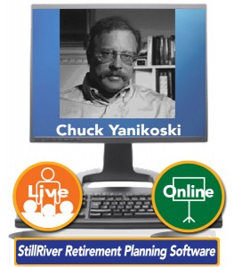 Chuck Yanikoski, Founder and President of StillRiver Retirement Planning Software, Inc. and its consumer subsidiary, RetirementWORKS, Inc.
