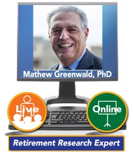 Mathew Greenwald, PhD, President and CEO of Greenwald and Associates