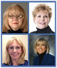 Cindy Hounsell, Mary Beth Franklin, Shelley Giordano, Betty Meredith