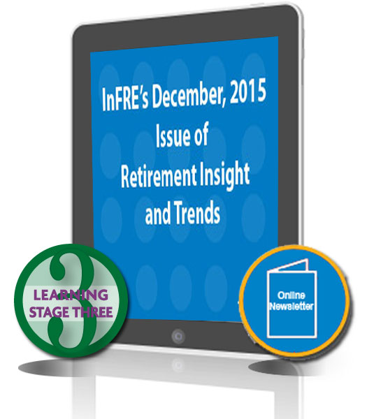 InFRE's 2015 4th Qtr Issue of Retirement Insight and Trends