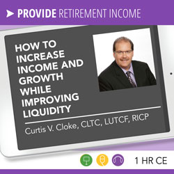 The Holy Grail of Retirement: How to increase income and growth while improving liquidity - Curtis Cloke