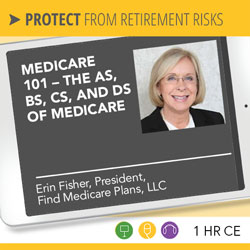 Medicare 101 – The As, Bs, Cs, and Ds of Medicare – Erin Fisher