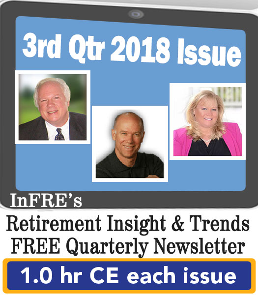 2018 3rd Qtr issue – InFRE's free newsletter – 1.0 CE credit