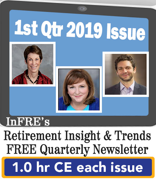 2019 1st Qtr issue – InFRE's free newsletter – 1.0 CE credit