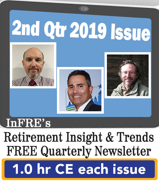 2019 2ndt Qtr issue – InFRE's free newsletter – 1.0 CE credit