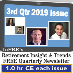 2019 3rd Qtr issue – InFRE's free newsletter – 1.0 CE credit