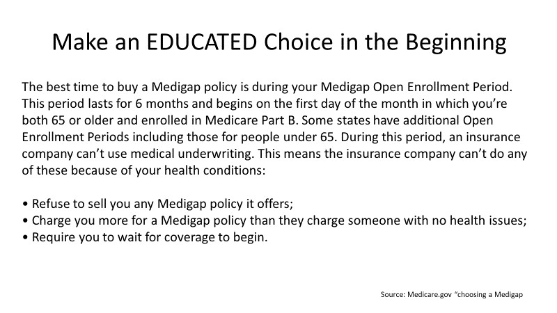 Make an Educated Choice in the Beginning