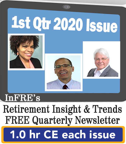 2020 1st Qtr issue – InFRE's free newsletter – 1.0 CE credit