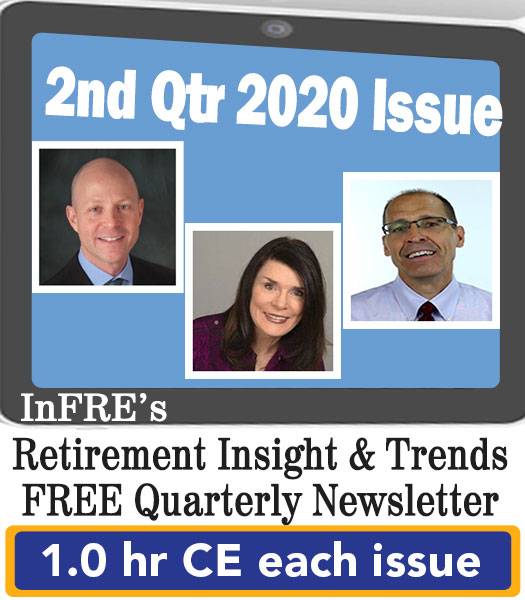 2020 2nd Qtr issue – InFRE's free newsletter – 1.0 CE credit