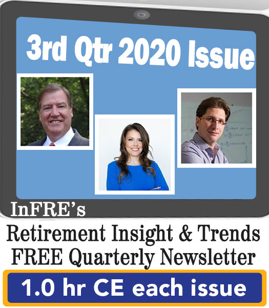 2020 3rd Qtr issue – InFRE's free newsletter – 1.0 CE credit