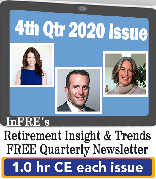 2020 4th Qtr issue – InFRE's free newsletter – 1.0 CE credit