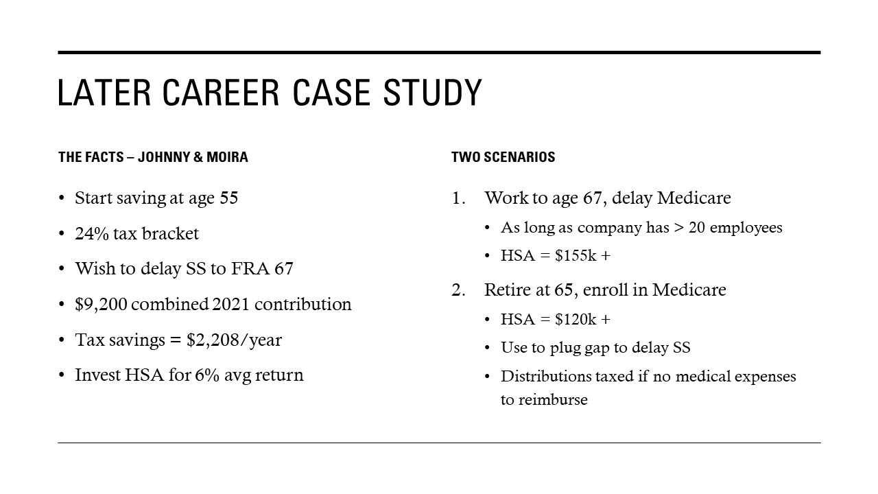 Later Career Case Study