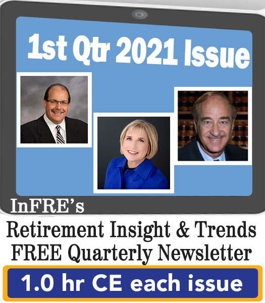 2021 1st Qtr issue – InFRE's free newsletter – 1.0 CE credit