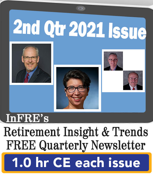 2021 2nd Qtr issue – InFRE's free newsletter – 1.0 CE credit